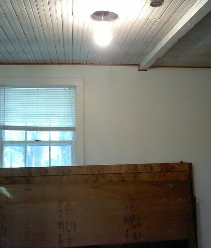 Old paneling removed
