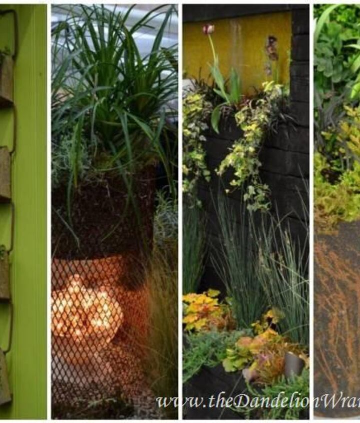 Rust: Reduce, Reuse & Recycle.Things old and rusty can be upcycled into unique and bold garden art