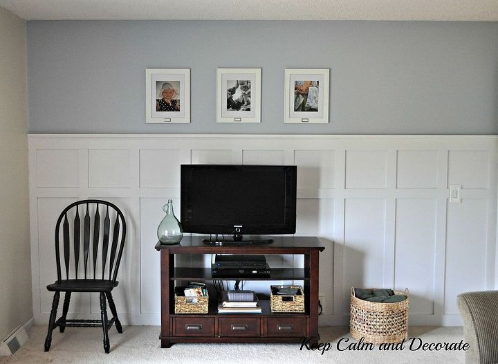 Updating A Wall With Board And Batten Paint Colors Decor The
