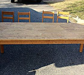 Delightful Sunday School Table Transformed, Painted Furniture Part 15