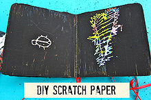 diy scratch off paper, crafts, DIY Scratch off paper