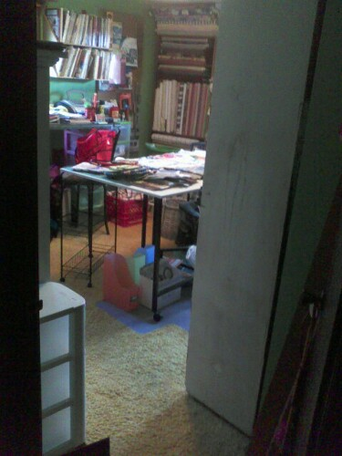 Just a peek at the new room.........continue looking and see the old room mature into this nice organized space!!!!!