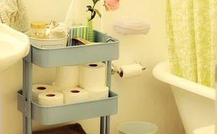 5 ways to get this look coral and gray bathroom ideas, bathroom ideas, home decor, painting, storage ideas, I found this aqua colored Ikea Rastog Lark Lola