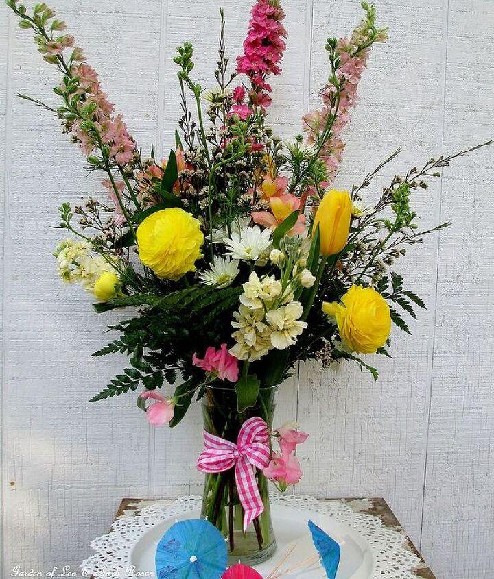 April Showers Gathering Vase Bouquet