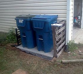 Wonderful Trash Can Patio, Concrete Masonry, Patio, Test Driving The Trash Can Patio  And