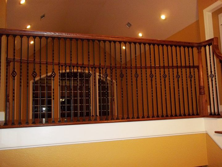 over the top with iorn balusters, home decor