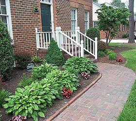 Garden, Mulch Beds, Mulch Washing Away, Drainage Solution For .
