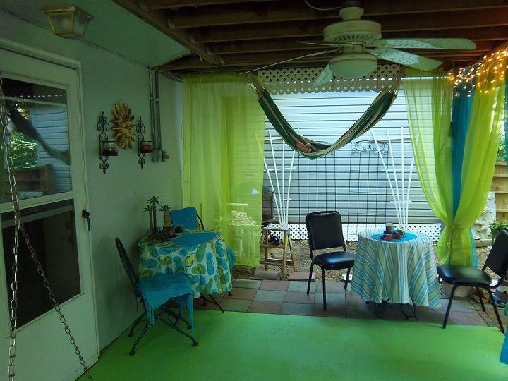redecorating under the deck, decks, outdoor living