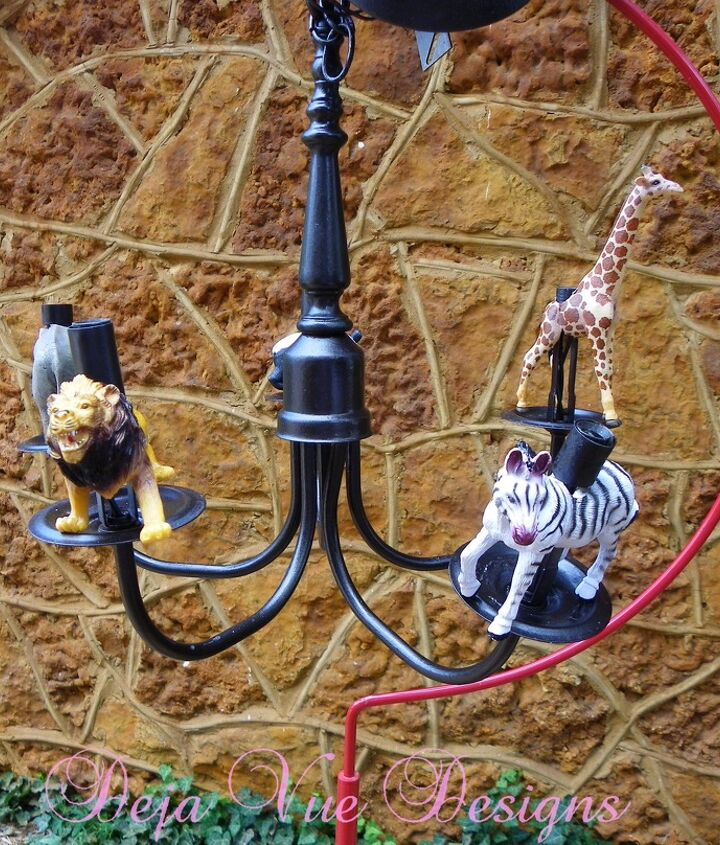 vintage chandelier re done for a boy or a girl, home decor, lighting