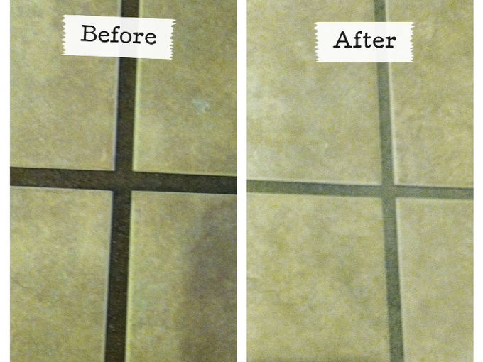 Can I Lighten The Grout On My Tile Floor To White Hometalk - Easy way to clean grout on tile floors