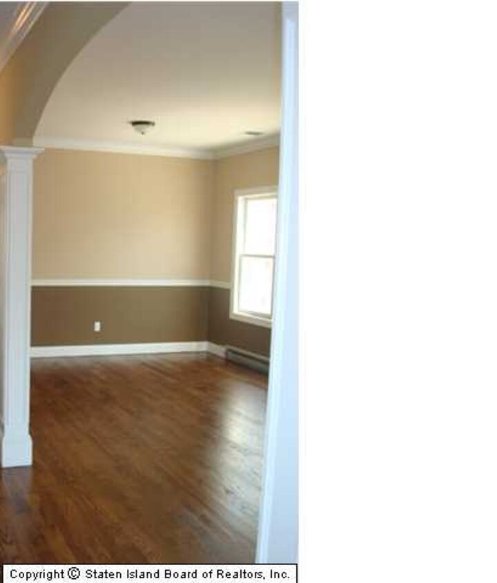 archways that lead to living room