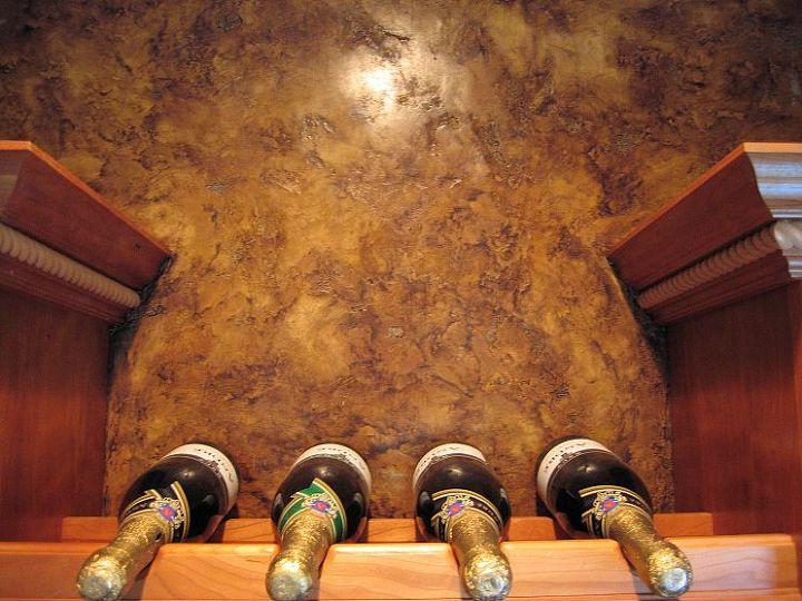 Italian Finishes - Wine Cellar or Bar Area
