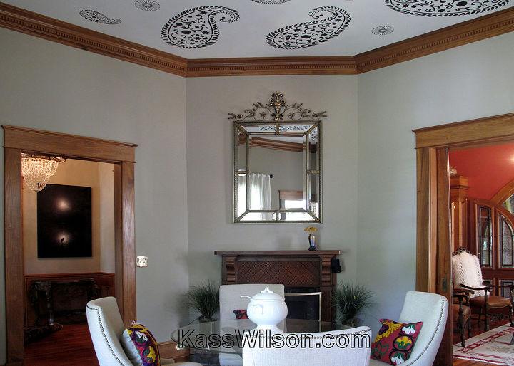 hidden agenda painting a ceiling, home decor, paint colors, painting