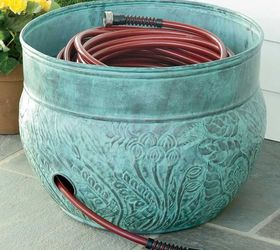 There Are Lots Of These Types Of Hose Pots Available With A Hole For The  Hose And Drainage, Of Course:
