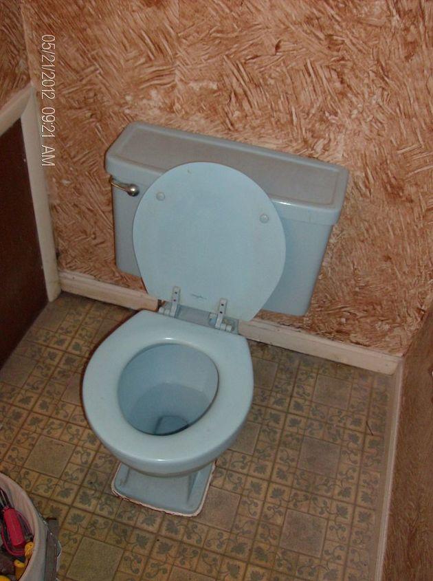 bath remodel 06 08 2012, bathroom ideas, home decor, home maintenance repairs, old toilet