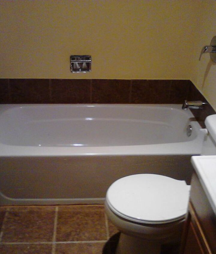 Long story short. I put in the shower body..toilet and sink.. plastered and painted.. This is the result.. looking for my next job so I can get my business lic.. YOU CAN AFFORD ME RENOVATIONS