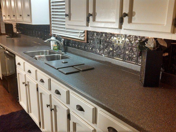 counter top and back splash are done, countertops, home decor, kitchen backsplash, kitchen design, tiling, wall decor