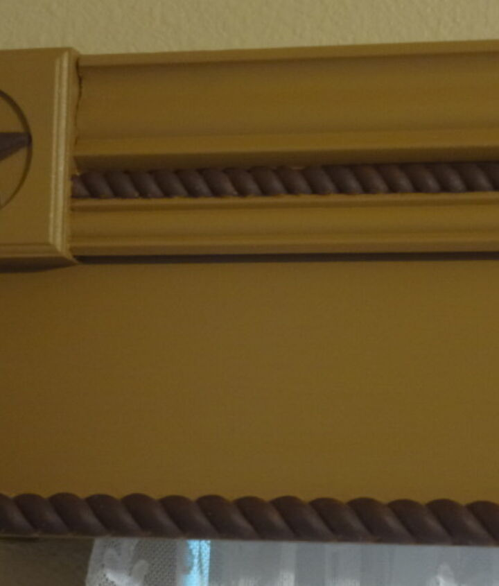 finished project of cornice boards for home office, home decor, window treatments