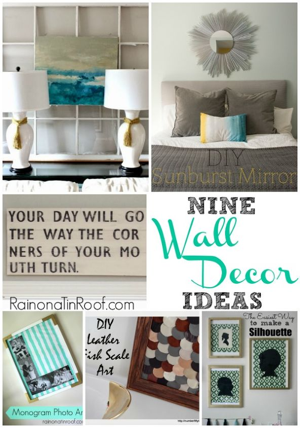 wall decor ideas, crafts, home decor, Wall Decor Ideas that don t require lots of