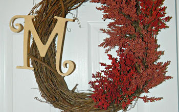 CHEAP and EASY Fall Wreath Tutorial...oh, also takes less than an hour to complete:)