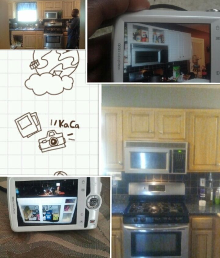 My cabinets...before and after