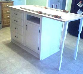 Old Base Cabinets Repurposed To Kitchen Island, Diy, How To, Kitchen  Cabinets,
