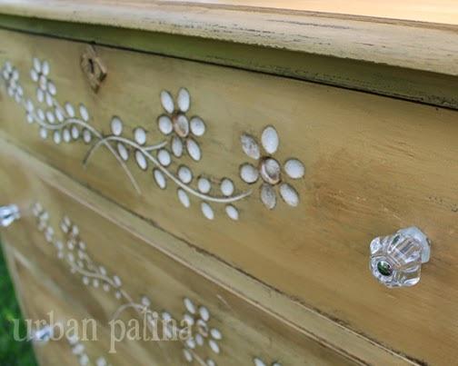 arles spoon carved dresser, chalk paint, painted furniture