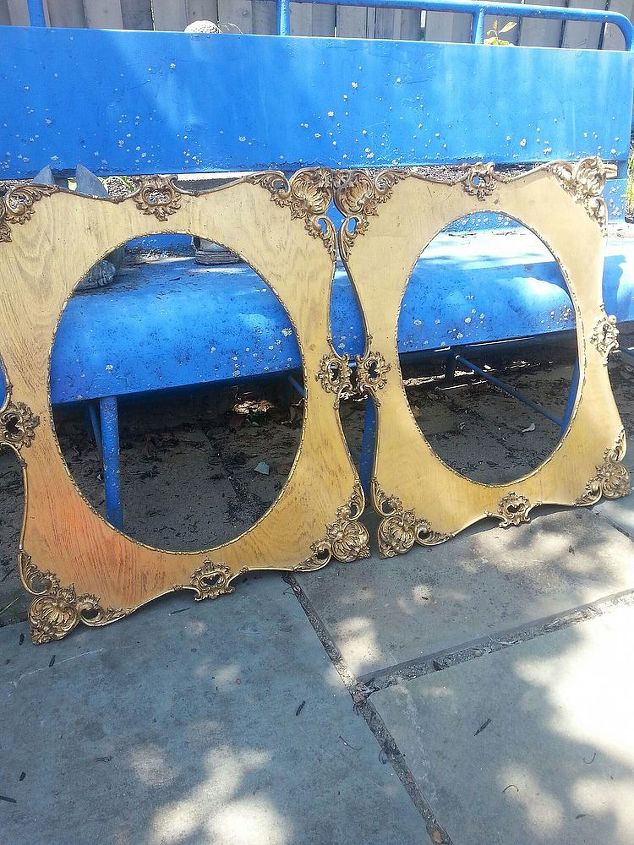 q any ideas for these picture frames they re 23 x 27 inches, crafts, repurposing upcycling