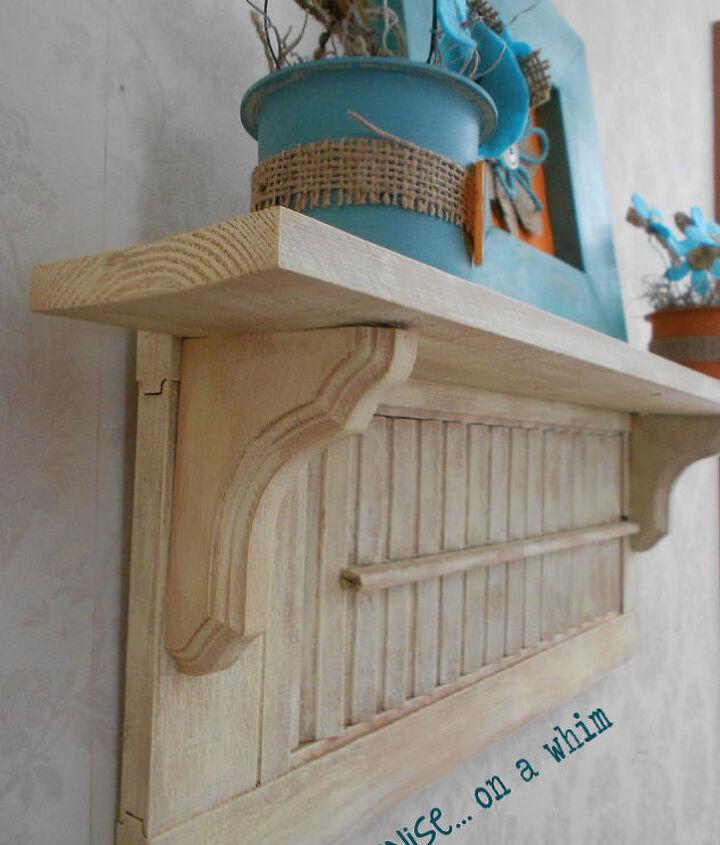 repurposing a shutter in 2 ways, home decor, repurposing upcycling