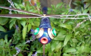 making dreamy dragonflies for the garden, crafts, gardening, repurposing upcycling, Myra Glandon s dragonfly