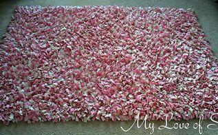 diy shag rag rug tutorial, crafts, flooring