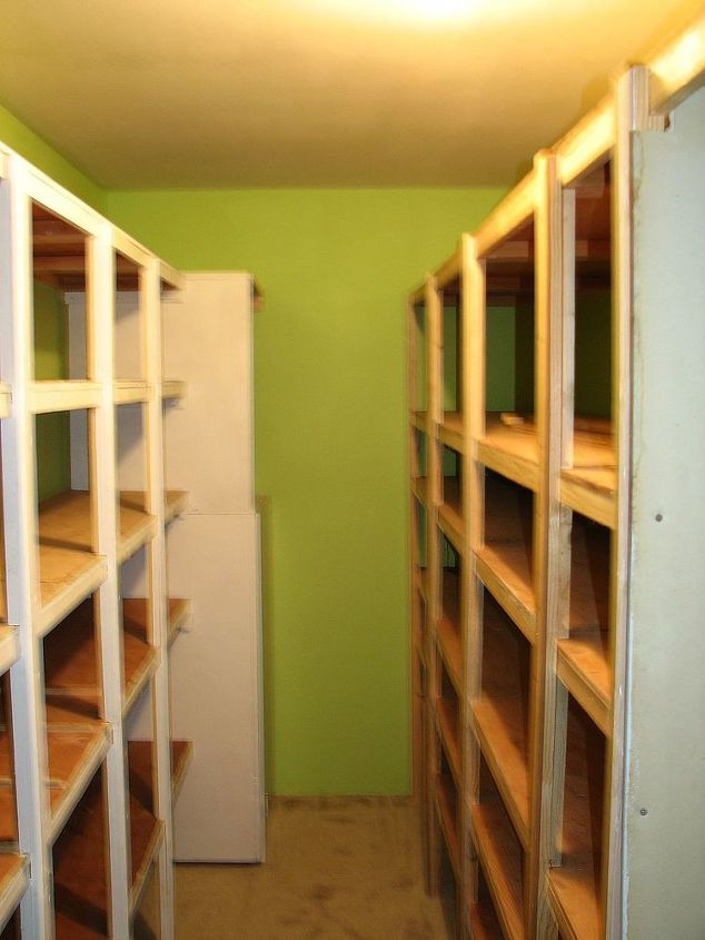 new bathroom, bathroom ideas, home decor, Old storage room narrow and GREEN We saved the shelves for another purpose