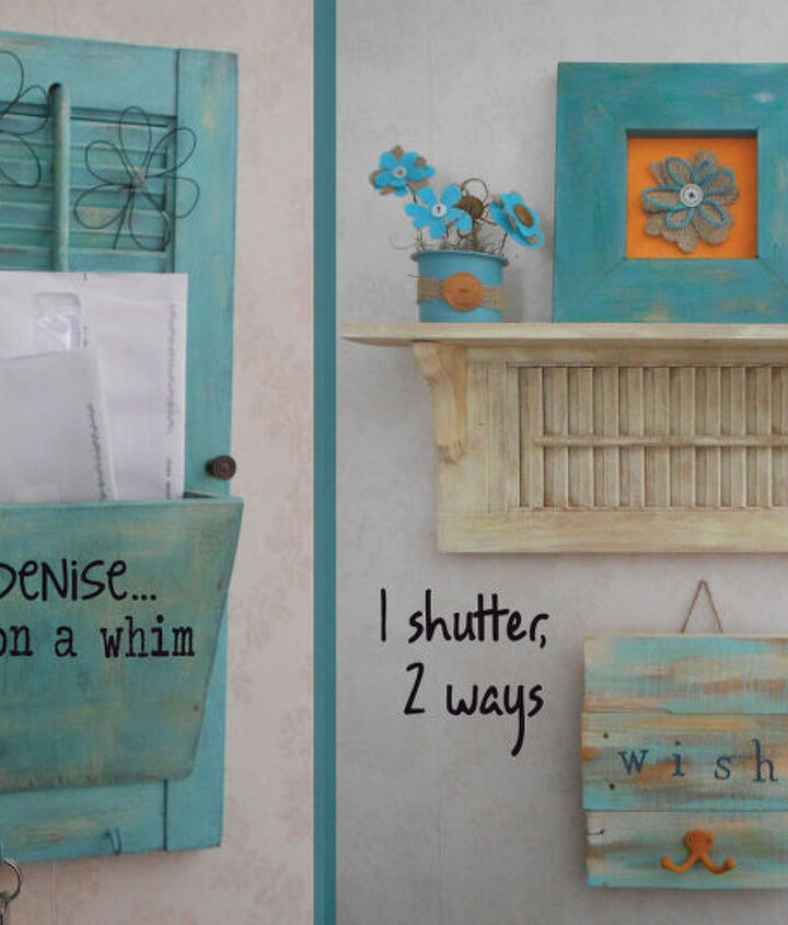 1 shutter, 2 ways