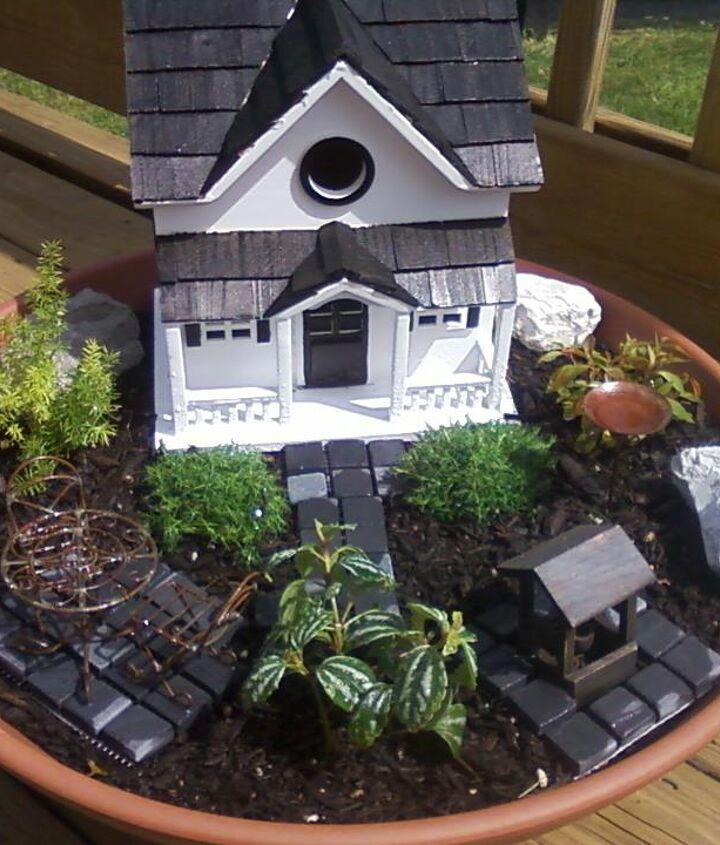 mini garden, crafts, gardening