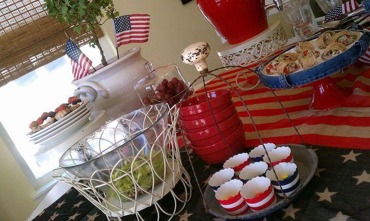 4th of july decorations, seasonal holiday d cor