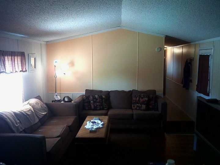 My mom's living room!