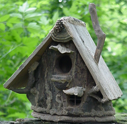 natural birdhouses, gardening, woodworking projects