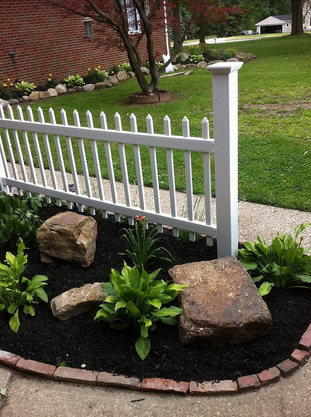 piece of the american dream, curb appeal, fences