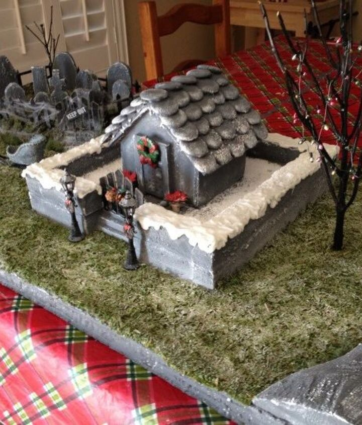 Hauted Christmas Village 1