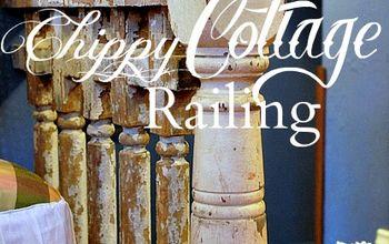 Kitchen Updo: Chippy Cottage Railing