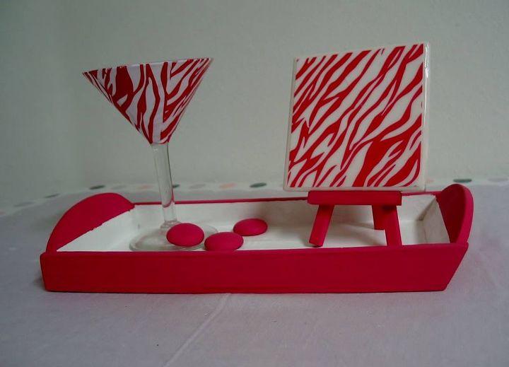 martini glass gift, crafts