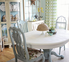 Delightful Ideas For Painting Dining Room Table And Chairs Part - 2: Dining Room Table And Chairs Makeover With Annie Sloan Chalk Paint