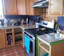 kitchen cabinet makeover, chalk paint, kitchen cabinets, kitchen design, painting