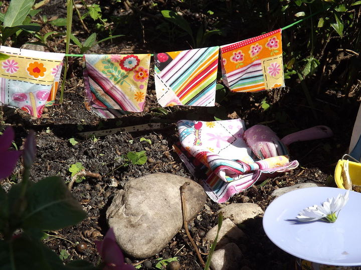 a surf shack just for our garden fairies, flowers, gardening, repurposing upcycling