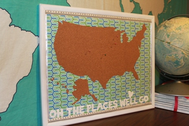 DIY Where Weve Been Map Hometalk - Where i have traveled map