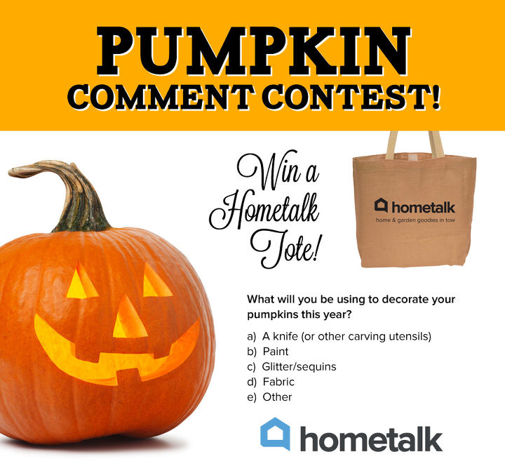 answer to win the pumpkin comment contest