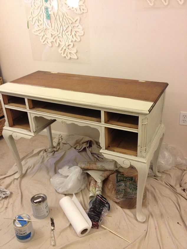 classic vanity makeover, painted furniture
