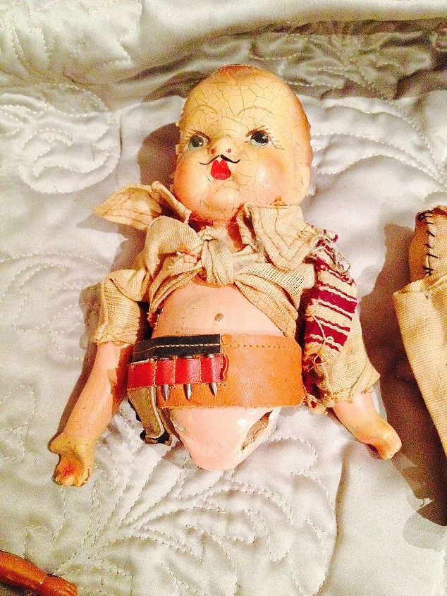 q how do you care for old dolls parts clothes, crafts