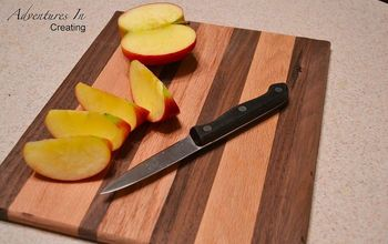 a scrap tastic cutting board, woodworking projects
