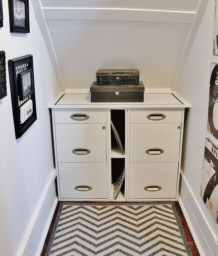 Create A Home Office Under The Stairs Hometalk